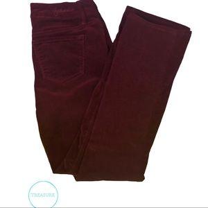 - Hydraulic Burgundy Jeans